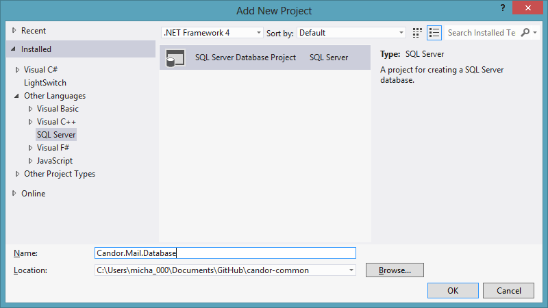 how to set up server for visual studio