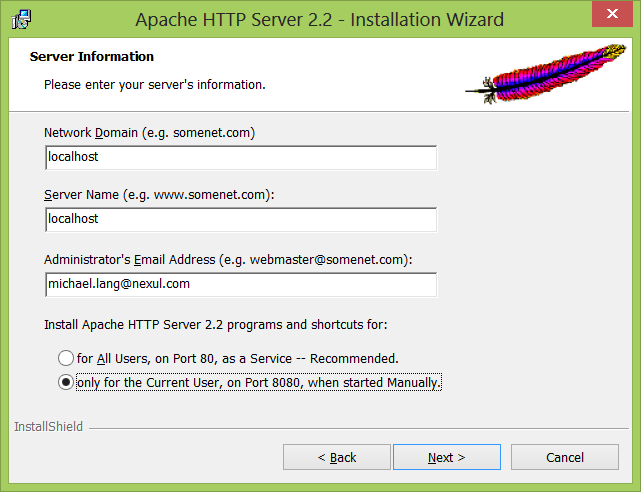 how to open 8080 port in windows 7